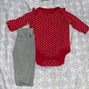 Baby gap outfit 0-3 month
